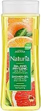 """Voňavky, Parfémy, kozmetika Sprchový gél """"Grapefruit a pomaranč"""" - Joanna Naturia Grapefruit and Orange Shower Gel"""