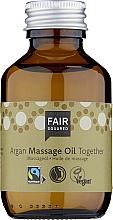 Voňavky, Parfémy, kozmetika Masážny olej na telo - Fair Squared Argan Massage Oil Together