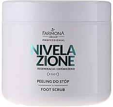 Voňavky, Parfémy, kozmetika Peeling na nohy - Farmona Nivelazione