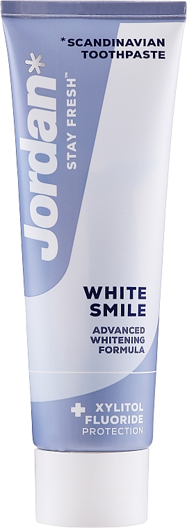 "Zubná pasta ""Snehovobiely úsmev"" - Jordan Stay Fresh White Smile"