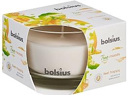 """Vonná sviečka v pohári """"Mango a Bergamot"""", 63/90 mm - Bolsius True Moods Candle — Obrázky N2"""
