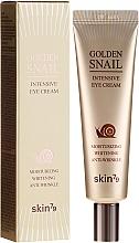Voňavky, Parfémy, kozmetika Krém na viečka proti starnutiu so slimákovým mucinom a zlatom - Skin79 Golden Snail Intensive Eye