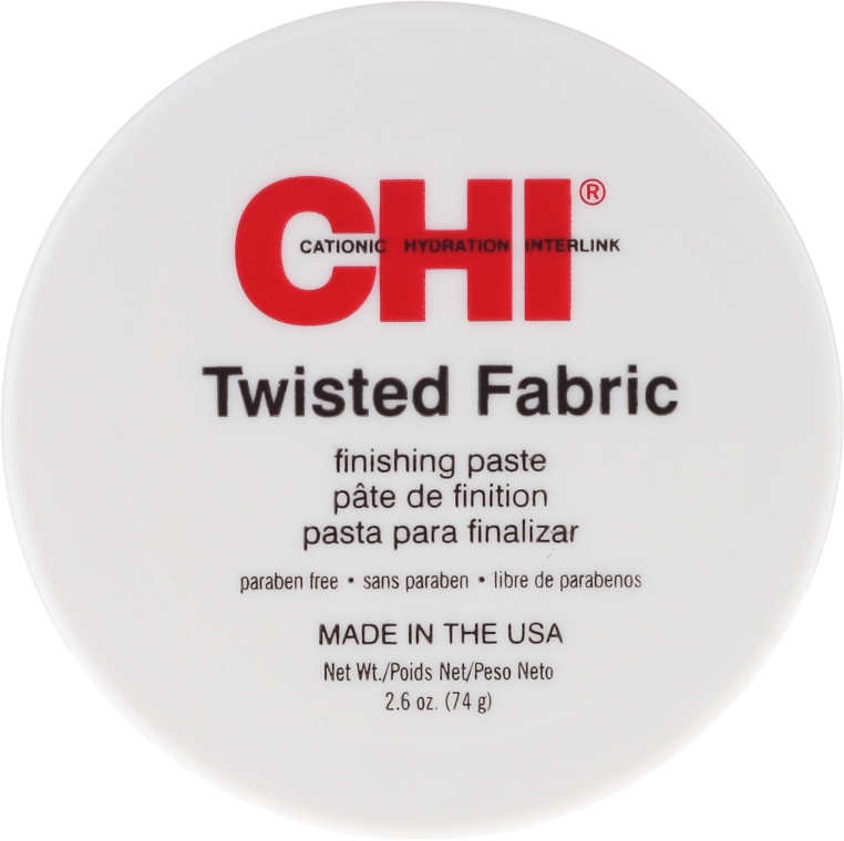 Štruktúrovaná pasta na vlasy - CHI Twisted Fabric