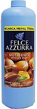 Voňavky, Parfémy, kozmetika Tekuté mydlo - Felce Azzurra Nutriente Amber & Argan (vymeniteľná jednotka)
