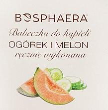 """Voňavky, Parfémy, kozmetika Kúpeľová bomba """"Uhorka a dyňa"""" - Bosphaera"""