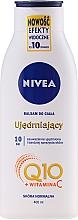 Voňavky, Parfémy, kozmetika Hydratačné mlieko Q10 plus pre pružnosť pokožky pre normálnu pokožku - Nivea Q10 PLUS Body Lotion