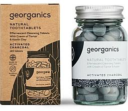 """Voňavky, Parfémy, kozmetika Tablety na čistenie zubov """"Aktívne uhlie"""" - Georganics Natural Toothtablets Activated Charcoal"""