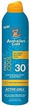 Voňavky, Parfémy, kozmetika Chladiaci sprej s SPF ochranou - Australian Gold Freash&Cool Continuous Spray Sunscreen SPF30