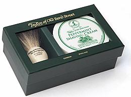 Voňavky, Parfémy, kozmetika Sada - Taylor of Old Bond Street Peppermint (sh/brash + sh/cream/150g)