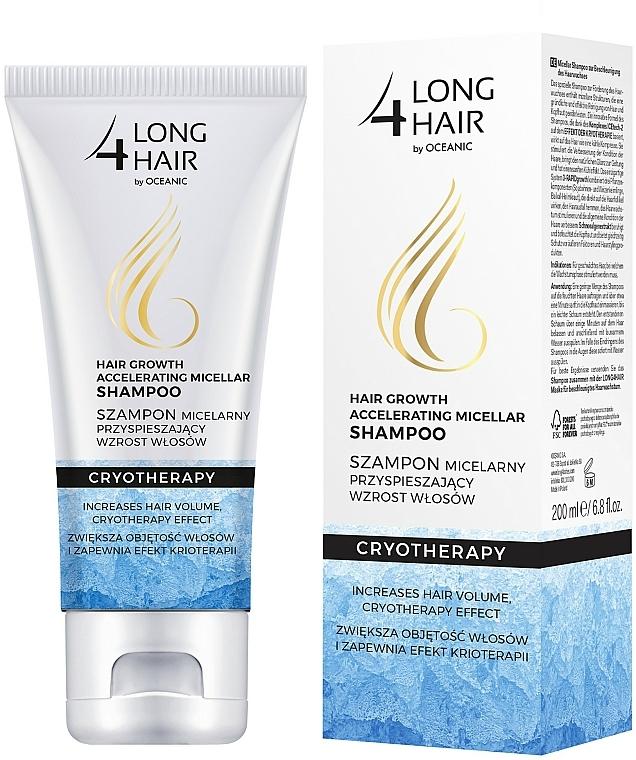Šampón na vlasy - Long4Lashes Krioterapia Micellar Shampoo