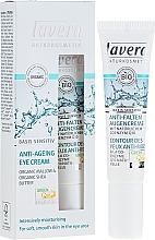 Voňavky, Parfémy, kozmetika Krém na kontúry očí proti vráskam Q10 - Lavera Basis Sensitiv Anti-Ageing Eye Cream Q10
