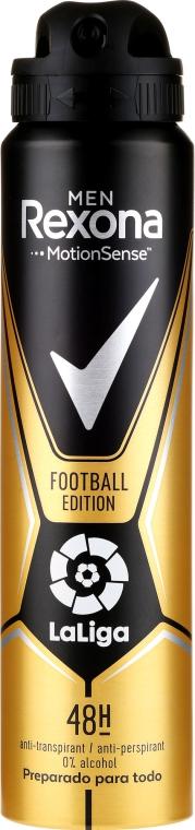 Antiperspirantový dezodorant pre mužov - Rexona Men MotionSense La Liga Football Edition Antiperspirant