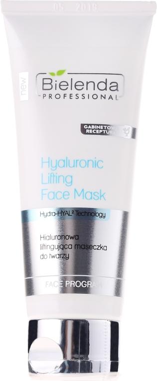 Hyalurónová maska-lifting na tvár - Bielenda Professional Hydra-Hyal Injection Hyaluronic Lifting Face Mask — Obrázky N1