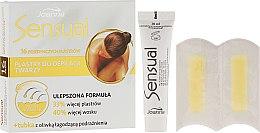 Voňavky, Parfémy, kozmetika Voskové pásiky na depiláciu tváre, na normálne vlasy - Joanna Sensual Dipilatory Face Strips