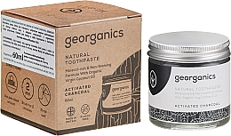 Voňavky, Parfémy, kozmetika Prírodná zubná pasta - Georganics Activated Charcoal Natural Toothpaste
