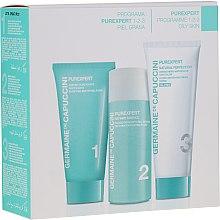 Voňavky, Parfémy, kozmetika Sada - Germaine de Capuccini Purexpert Natural Perfect 1-2-3 Oily (f/foam/30ml + fluid/50ml + f/cr/50ml)