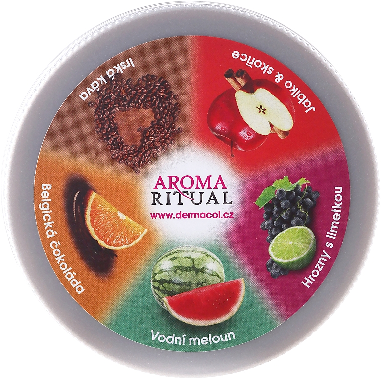 """Telový peeling """"Jablko a škorica"""" - Dermacol Aroma Ritual Body Scrub Apple & Cinnamon — Obrázky N1"""