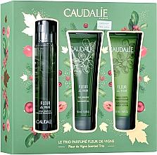 Voňavky, Parfémy, kozmetika Caudalie Fleur De Vigne - Sada (edt/50ml + sh/gel/50ml + lotion/50ml)