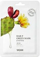 """Voňavky, Parfémy, kozmetika Maska na každodenné použitie """"Kaktus"""" - Yadah Daily Green Mask Cactus"""