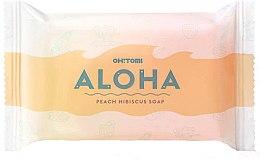 Voňavky, Parfémy, kozmetika Prírodné mydlo - Oh!Tomi Aloha Peach Hibiscus Soap