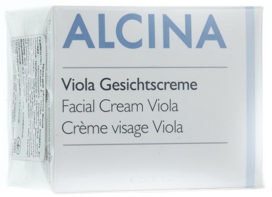 Krém na tvár Viola - Alcina T Facial Cream Viola — Obrázky N1