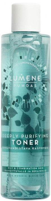 Tonikum na hlboké čistenie pleti - Lumene Puhdas Deeply Purifying Toner