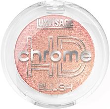 Voňavky, Parfémy, kozmetika Lícenka na tvár - Luxvisage HD Chrome Blush