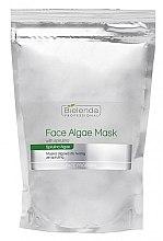 Voňavky, Parfémy, kozmetika Alginátová maska na tvár so spirulinou - Bielenda Professional Algae Spirulina Face Mask (rezervný blok)