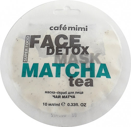 Scrubujúca maska na tvár - Cafe Mimi Face Mask