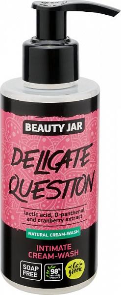 Krémový gél pre intímnu hygienu - Beauty Jar Delicate Question Intimate Cream-Wash