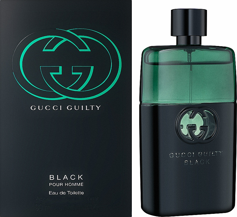 Gucci Guilty Black Pour Homme - Toaletná voda — Obrázky N2