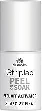 Voňavky, Parfémy, kozmetika Odstraňovač gélového laku - Alessandro International Striplac Peel Or Soak Peel Off Activator