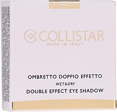 Voňavky, Parfémy, kozmetika Očné tiene na viečka - Collistar Double Effect Eye-Shadow Wet & Dry