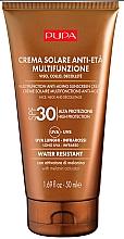 Voňavky, Parfémy, kozmetika Protistarnúci krém na tvár a dekolt s ochranou pred slnkom SPF 50 - Pupa Anti-Aging Sunscreen Cream SPF 30