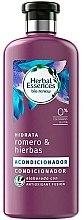 """Voňavky, Parfémy, kozmetika Hydratačný kondicionér """"Rozmarín a byliny"""" - Herbal Essences Rosemary & Herbs Conditioner"""