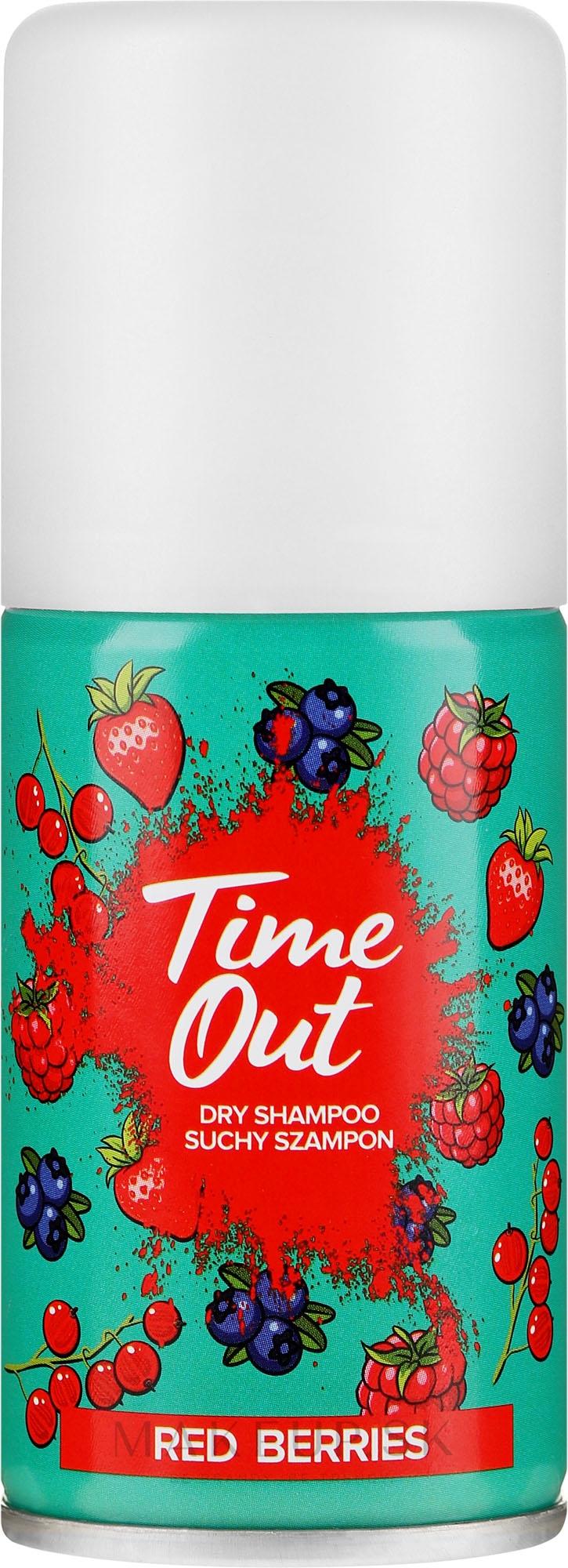 Suchý šampón na vlasy - Time Out Dry Shampoo Red Berries — Obrázky 75 ml