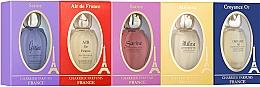 Voňavky, Parfémy, kozmetika Charrier Parfums Pack 5 Miniatures - Sada (edp/8.5ml+edp/8.5ml+edp/8.5ml+edp/10.8ml+edp/10.8ml)