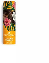 """Voňavky, Parfémy, kozmetika Balzam na pery """"Kokosová energia"""" - Orientana"""