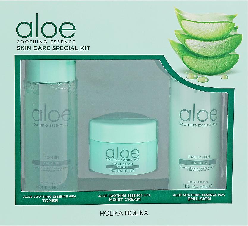 Sada - Holika Holika Aloe (toner/50ml + emulsion/50ml + cr/20ml)