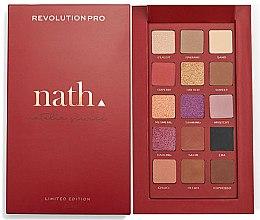 Voňavky, Parfémy, kozmetika Paleta očných tieňov - Makeup Revolution Pro X Nath Eyeshadow Palette