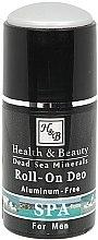 Voňavky, Parfémy, kozmetika Guľôčkový deodorant pre mužov - Health And Beauty Roll-On Deo For Man