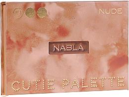 Voňavky, Parfémy, kozmetika Paleta tieňov na viečka - Nabla Cutie Collection Palette Nude
