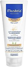 Voňavky, Parfémy, kozmetika Krém na telo - Mustela Bebe Nourishing Lotion with Cold Cream