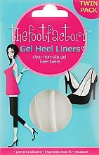 Voňavky, Parfémy, kozmetika Gélové vložky na nohy - The Foot Factory Gel Heel Liner Twin Pack