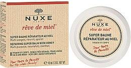 Voňavky, Parfémy, kozmetika Regeneračný balzam s medom na tvár a telo - Nuxe Rêve de Miel Repairing Super Balm With Honey