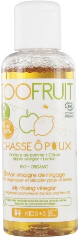 Ocot na vlasy proti všiam - Toofruit Lice Hunt Vinegar