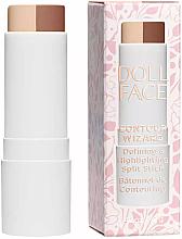 Voňavky, Parfémy, kozmetika Korektor na tvár v tyčinke - Doll Face Contour Wizard Contour Split Sticks