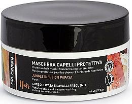 Voňavky, Parfémy, kozmetika Ochranná maska na vlasy - Bio Happy Jungle Infusion Protective Hair Mask