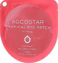 """Voňavky, Parfémy, kozmetika Hydrogélové náplasti na oči """"Tropické ovocie, Pitahaya"""" - Kocostar Tropical Eye Patch Pitaya"""