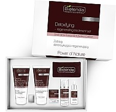 Voňavky, Parfémy, kozmetika Sada - Bielenda Professional Power Of Nature (mask/150ml+scrub/150g+ cr/50ml+serum/30ml)